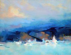 Blue Coast by Trisha Adams Oil ~ 16 x 20