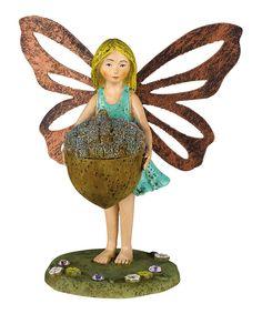Look what I found on #zulily! Mini Fairy Figurine - Set of Six by Grasslands Road #zulilyfinds