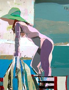Figure Painting 45 by Kim Frohsin  ~  x