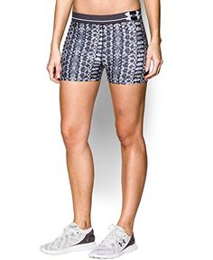 Under Armour Women's Heatgear Printed Shorts *** To view further for this item, visit the image link.