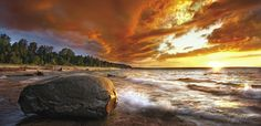 Lake Superior, Miners Beach. Steve Perry of Sylvania, Ohio. http://www.lakesuperior.com/contests/photo-contest/photocontest11/