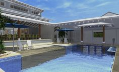 Resort House Freshwater - Design Concept by All Australian Architecture 3d Design, House Design, Australian Architecture, Architect Design, Home Renovation, Fresh Water, New Homes, Mansions, House Styles