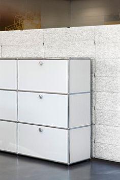 Inspiration decoration pour la rentree : Paroi modulable USM Privacy panels (USM).