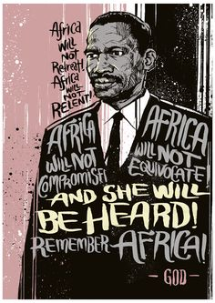 Limited edition digital archival commemorative print of South African political 'dissident' Robert Mangaliso Sobukwe, who founded the Pan Africanist Congress in opposition to South Africa under apartheid. Protest Art, Protest Posters, Apartheid, South Africa Art, South African Design, Heart Illustration, Political Art, Black History Facts, Anti Racism