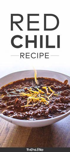 Red Chili Recipe