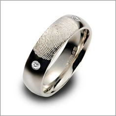 fingerprint wedding band    just don' t leave it behind if you decide to kill someone!