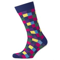 You'll look great with this!   Navy checked socks http://www.fashion4men.com.au/shop/charles-tyrwhitt/navy-checked-socks/ #Charles, #CharlesTyrwhitt, #Checked, #Fashion, #Fashion4Men, #Men, #Navy, #Socks, #Tyrwhitt