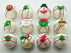 douceurs de Noël : cupcakes et cake pops
