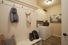great with kids in the house. Pulte Homes, Home Board, Home Upgrades, Mudroom, My Dream Home, Laundry Room, Kitchen Remodel, Sweet Home, Creativity