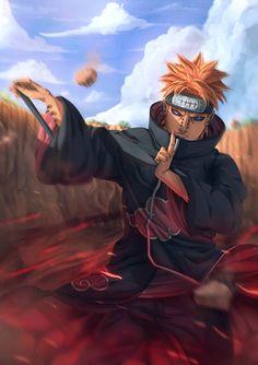 Lineart and Color by : Dragon--anime Manga : Naruto Shippuden . Naruto Shippuden Sasuke, Itachi Uchiha, Anime Naruto, Fan Art Naruto, Naruto And Sasuke, Gaara, Anime Guys, Boruto, Yahiko Naruto