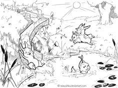 Summertime! (BunnyStories6) by Stasushka.deviantart.com on @DeviantArt
