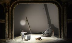 The Tempest. The Shakespeare Theatre Company. Scenic design by Lee Savage. 2014