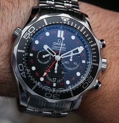 Omega Seamaster 300M Chronograph GMT Co-Axial Watch