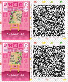 Designer Qr Codes Animal Crossing Happy Home Wall on