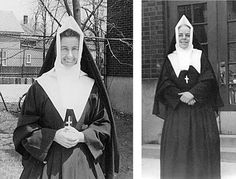 Margaret Mary (Grade Right: Mother St. Patricia (Grades 1 and in 1956 Daughters Of Charity, Nuns Habits, Best Places To Live, Cnd, Roman Catholic, Notre Dame, Religion, Sisters, Faith