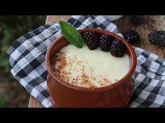 Delicious Desserts, Dessert Recipes, Butter Salmon, Greek Recipes, Taste Buds, Custard, Cravings, Biscuits, Caramel