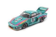 1979 PORSCHE 935 #40 KREMER RACING LEMANS 1/18 DIECAST MODEL CAR BY TSM 141807 #TrueScaleMiniatures #Porsche