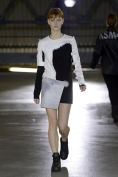 Anne Sofie Madsen A/W '14 - OVERSIZED GROMMET AND USE OF PRINT