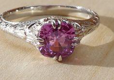 Vintage Antique 1.06ct Natural Unheated Purple by DiamondAddiction £505.05