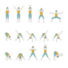 Golden Seed Yoga Sequence