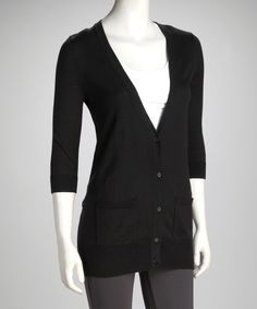 This classic knit features the long, pocketed length of a menswear-inspired cardigan with the plunging neckline and curve-skimming silhouette of a feminine style staple. Autumn Fashion Work, Work Fashion, Cute Fashion, Fashion Ideas, Nina Leonard, Boyfriend Cardigan, Feminine Style, Cardigans For Women, Swagg