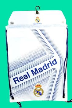 ac220592c1d Amazon.com   Real Madrid Official SOCCER One Size Cinch Backpack   Real  Madrid Bag   Sports   Outdoors