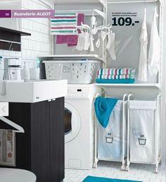 Buanderie Algot du catalogue Salle de bains Ikea 2015