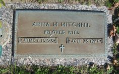 Anna M Mitchell (1908 - 1977) - Find A Grave Photos