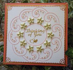 Emelie's Design Card Stitching Card
