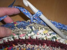 A Home Grown Journal: Crocheted Rag Rug Tutorial … More
