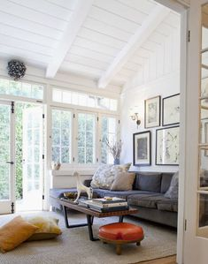 ceilings and windows - bright & white