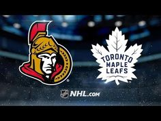Watch tonight's Scotiabank Game in Six between the Toronto Maple Leafs and Ottawa Senators Toronto Maple Leafs, Ottawa, Predator, Nhl, Leaves, Game, Highlights, Watch, Youtube