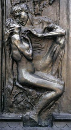 Auguste Rodin ~ detail from The Gates of Hell