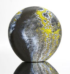 Elemental Series: Bronze Stone: David Royce: Art Glass Paperweight - Artful Home