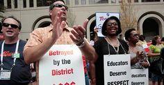 osCurve News: Happy Educators Appreciation Week: Teachers protes...
