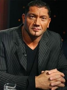 """Dave Batista as """"Arkady"""", vampire, Princess Tanya's bodyguard Batista Wwe, Short Faced Bear, Dave Bautista, George Strait, Wwe Superstars, Pick One, The World's Greatest, One Pic, Sexy Men"""