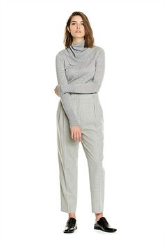 Tailored Tuck Pant