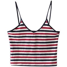 Women Stap Stripe Backless Short Tank Top Summer Beachwear (31 BRL) ❤ liked on Polyvore featuring tops, shirts, crop tops, tank tops, stripe, women tops tank tops, short sleeve shirts, summer shirts, white crop tank top and white crop tank