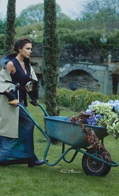 ~Victoria Beckham by Patrick Demarchelier - Vogue UK August 2014 | House of Beccaria#