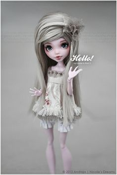 Hello nice to meet you! by ***Andreja***, via Flickr