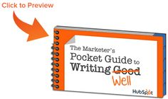 Marketer's Guide to Writing Well from HubSpot