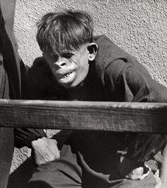 Imagens de 1937 Mostram Homem Macaco Brasileiro