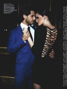 Revista Status - Vestido Red Carpet Inverno 14 - lancaperfume.com.br