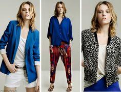 I <3 the cobalt blue blazer...definitely on my list to buy for summer.