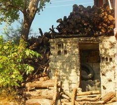 Firewood house