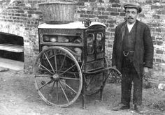 Whitchurch: handcart (Baker and Confectioner), c1910
