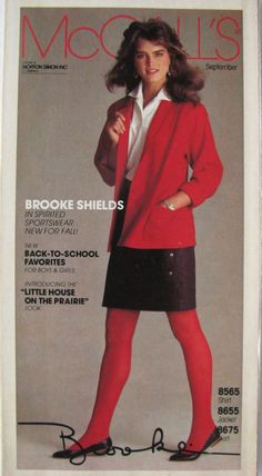 Brooke Shields covers McCall's Brochure  ( United States ) September 1983