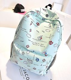 2016 New College Lovely Style School Backpack For Women Teenage Girl  Feminina Backpacks Lona Escolar Mochila Women Lady Bags 73e5e95e04b88