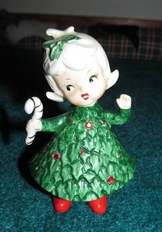 I have this one, she's the only one I found at a garage sale.  All my others I think came from Ebay, except for maybe 2 or 3 that came from former co-workers.