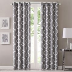 "Features:  -Construction Material: 68% Polyester, 29% cotton and 3% rayon curtains with plastic grommets.  -Grommet Diameter: 1.5"".  -Includes 1 unlined panel.  -Grommet Color: Dark copper.  -Light fi"
